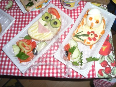 Конкурс за здравословен сандвич - ДГ Калина - Сливен